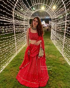 Mehndi outfit - Beautiful Chikankari Lehengas that are too Good to be Missed! Indian Wedding Outfits, Bridal Outfits, Indian Outfits, Indian Clothes, Engagement Outfits, Indian Attire, Indian Reception Outfit, Bridal Dresses, Girls Dresses