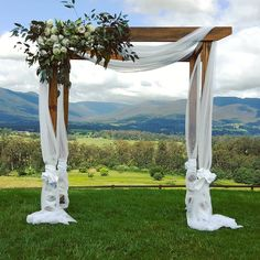 wood wedding arch hire geelong pinteres