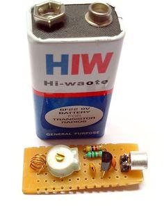 Mini FM Transmitter you can make yourself #diy #electronic