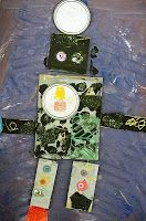 Recycled Robot Art project