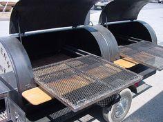 fuel barrel hog smoker - Google Search