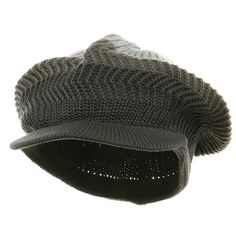New Crown Beanie Visor-Grey steel (For Big Head) ** Find out more about the great product at the image link.