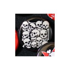 I Want Your Skull 1 Inch 2.54 cm Button by hungryknife on Etsy