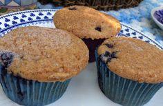 Kitty's Whole Wheat Bluberry Muffins