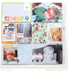 itsmeamanda : our project life: Project Life Weeks 10 and 11 : Studio Calico Spencer's Kits