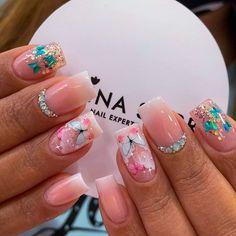 Diy Manicure, Gel Nails, Nail Designs, Nail Art, Perfect Nails, Pretty Nails, Gel Nail Tips, Bling Nails, Designed Nails
