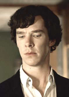Sherlock and his contemplative face. :)