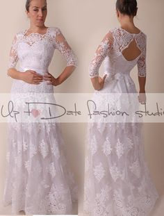 Hey, I found this really awesome Etsy listing at https://www.etsy.com/listing/250801101/lace-plus-size-portrait-back-long-maxi