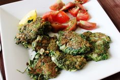 Spinach Patties_ These delicious spinach patties are very flavorful and easy to make, and they could become one of your kid's favorite meals!