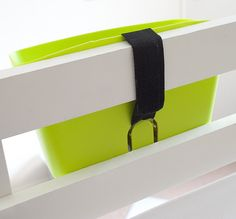 bunk bed storage from dollar tree. UMMM ridiculously easy!