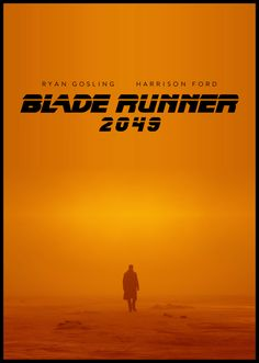Blade Runner 2049 poster 2nd version by LeeTopic