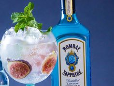 Give your #BOMBAYSAPPHIRE Ultimate Gin & Tonic a touch of Mediterranean warmth with slices of earthy fig.
