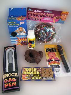 OFFICE PRANK KIT..... Set'm Up and Mow'em Down...... Everyone works with annoying people. You know the ones that take your stapler and never return it or steal's your pen off your desk. Well, we have the solution for you and it's called The One Stop Fun Shop's Office Prank Kit. OH YES! Everything you need to get those irritating people back. www.theonestopfunshop.com