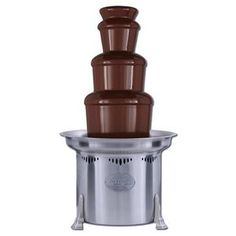 Sephra 27 Inch Stainless Steel Commercial Chocolate Fountain