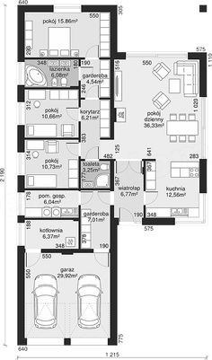 Bungalow Floor Plans, Small House Floor Plans, Lake House Plans, Best House Plans, Dream House Plans, Flat House Design, Modern House Design, Architecture Plan, Residential Architecture