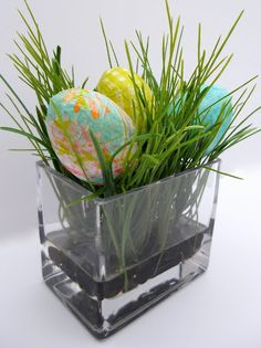 How to: Modge Podge Easter Eggs