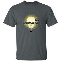 Unisex Custom Ultra Cotton T-Shirt - I AM INNOVATION