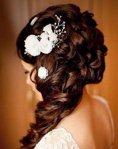 félkontyok - menyasszonyi félkonty
