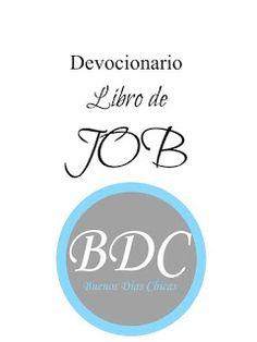 Recurso gratuito e imprimible para estudiar el libro de Job. De Buenos Días Chicas.