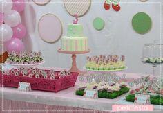 Petit Festa Strawberry Shortcake party