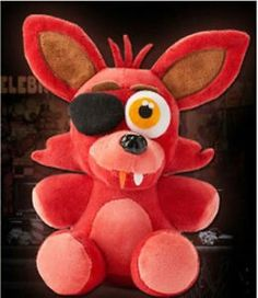 Cool foxy plushie only 14$