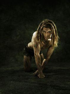 Alexander Klaws als Tarzan  Disneys Musical Tarzan im Stage Theater Neue Flora in Hamburg.