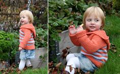 childhood remake with hood knit kid's hoodie pattern, tons of patterns on this site in english