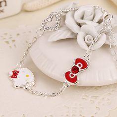 Hello Kitty Bracelet //Price: $3.99 & FREE Shipping // World of Hello Kitty http://worldofhellokitty.com/2016-trend-sweet-kawaii-cute-bracelet-female-korean-fashion-hello-kitty-bracelet-women-fashion-jewelry-best-gift-for-daughter/    #collectibles