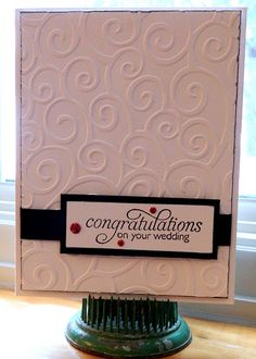 Wedding Card - Congratulations On Your Wedding