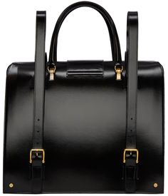 Thom Browne - Black Patent Mr. Thom Backpack