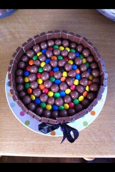 Chocolate on chocolate on chocolate...