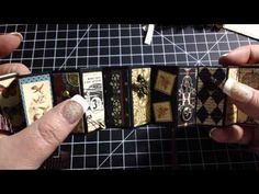 Altered Domino Books (Craft Happens Swap)