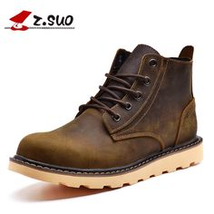 "59.99$  Buy now - http://alipx1.worldwells.pw/go.php?t=32747492664 - ""Z. Suo """"women 's boots, genuine leather fashion female boots, high-grade quality leisure work boots ankle bots. Zs359N"" 59.99$"