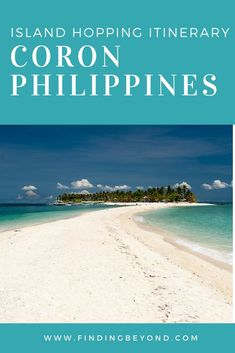 Read the best #Coron #itinerary which includes Coron Island hopping,  Top Places To Visit In #Philippines   Best beaches in the Philippines   Must see places in the Philippines   Top attractions in Coron   Best tours in Coron   Best activities in Coron  