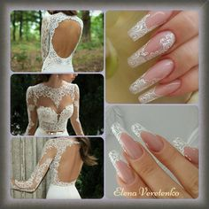 Love And Lace, Beautiful Nails for the Bride