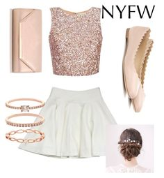 """""""Rose gold"""" by abbyburkhalter-1 on Polyvore featuring Milly, Dorothy Perkins, Chloé and Accessorize"""