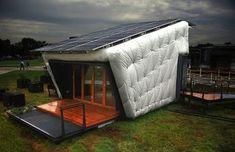 Net zero LA area house, just wrap mattresses around your box!