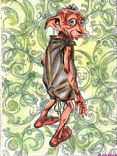 My First Picture Colored In Harry Potter Coloring Book Dobby Page 15