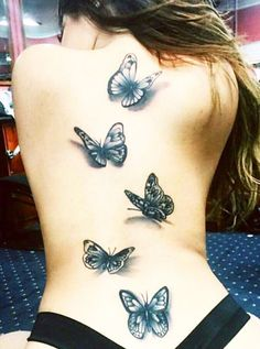 Butterfly With Flowers Tattoo, Butterfly Tattoo On Shoulder, Butterfly Tattoos For Women, Butterfly Tattoo Designs, Shoulder Tattoo, Butterflies, Feminine Tattoo Sleeves, Feminine Tattoos, Girly Tattoos