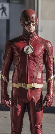 The Flash from the Arrowverse (2017 suit)
