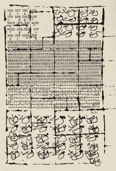 "Go See – New York: Brion Gysin ""Dream Machine"" at the New Museum through October 2010 Bukowski, Tr 4, New Museum, Dream Machine, Mark Making, Word Art, Literature, Abstract Art, Mindfulness"