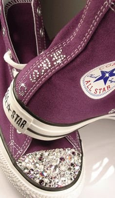 crystal bling converse