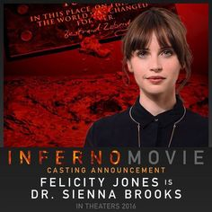 Sony Pictures held an Inferno photo call with director Ron Howard and actors Tom Hanks and Irrfan Kahn. You can view the Inferno photos here. Dan Brown, Felicity Jones, Ron Howard, Tom Hanks, Classical Music, Good Movies, I Movie, Announcement, Concert
