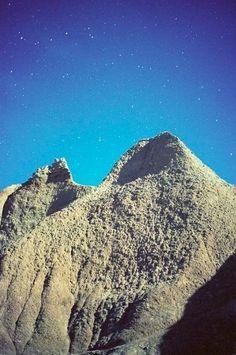 Night Sky (Sand Castle Mountain) (2014) by Ryan McGinley