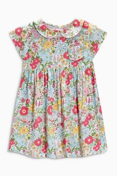 Buy Print Dress from the Next UK online shop Kids Prom Dresses, Girls Easter Dresses, Short Dresses, Summer Dresses, Latest Fashion For Women, Kids Fashion, Toddler Dress, Floral Tops, Fashion Photography