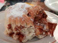 Apple and cinnamon scone at Le Jardin Cafe, Kinross