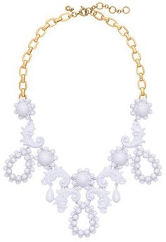 #J.Crew Bead droplet statement #necklace on shopstyle.com