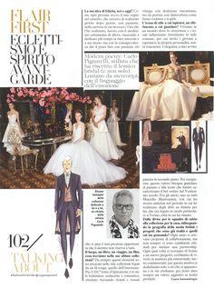 Carlo Pignatelli featured on Vogue Sposa n°138 #carlopignatelli #wedding #matrimonio #sposi #couture #weddingday #editorial
