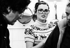 """Katie (gif #2) Cutie. :3 I love her glasses. --Description by DestinyandDoom"""