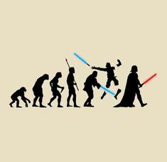 Star Wars human evolution❣️ #starwars